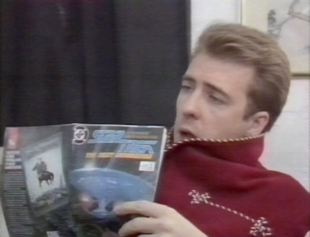 Jonathan Ross reading Star Trek
