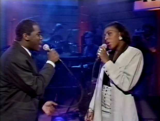 Mica Paris and Will Downing