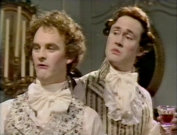 Nigel Planer and Tim McInerney
