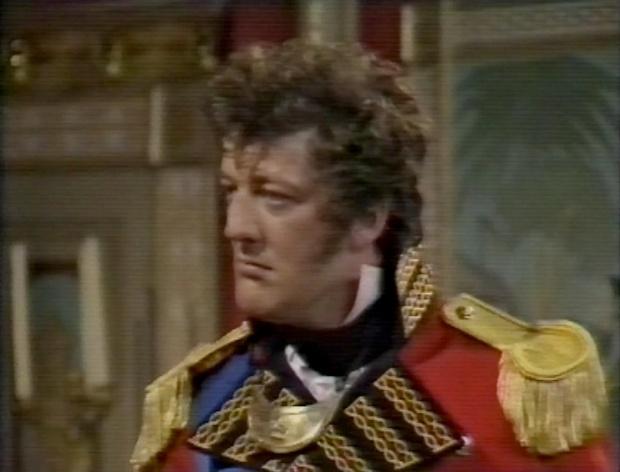 Stephen Fry as the Duke of Wellington