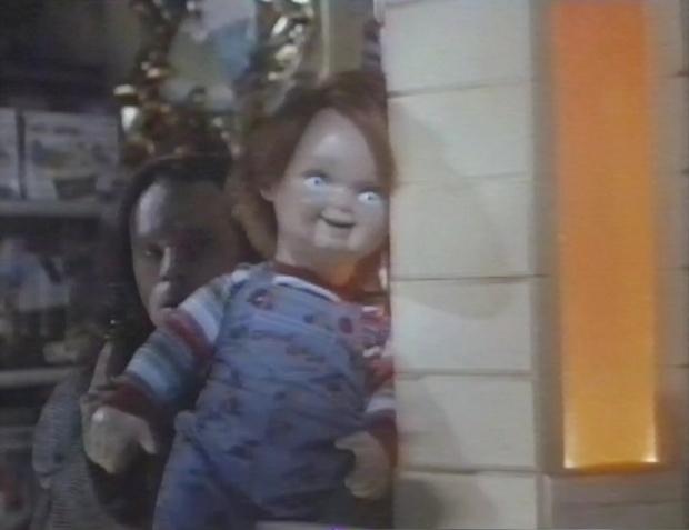 Brad Dourif and Chucky