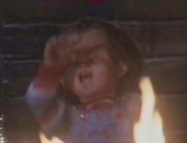 Chucky in Flame