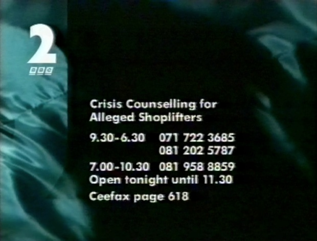 Crisis Counselling for alleged shoplifters
