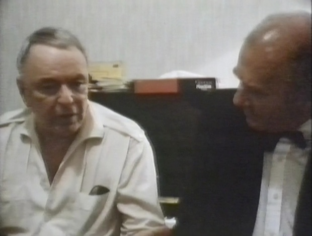 Frank Sinatra and Clive James