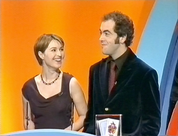Helen Baxendale and James Nesbitt