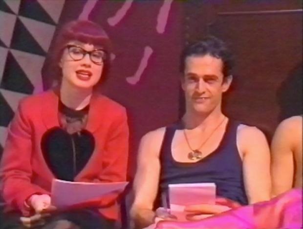 Katie Puckrick and Ruper Everett