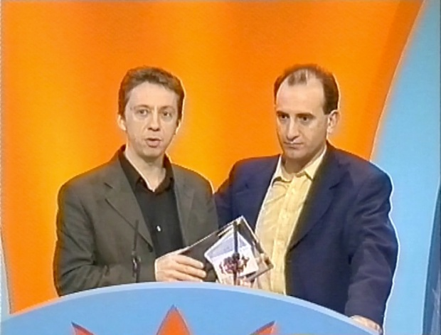 Peter Baynham and armando Iannucci