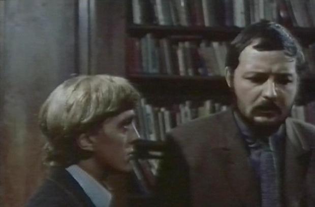 Peter Bowles and David Hemmings
