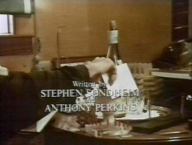 Written by Stephen Sondheim and Anthony Perkins
