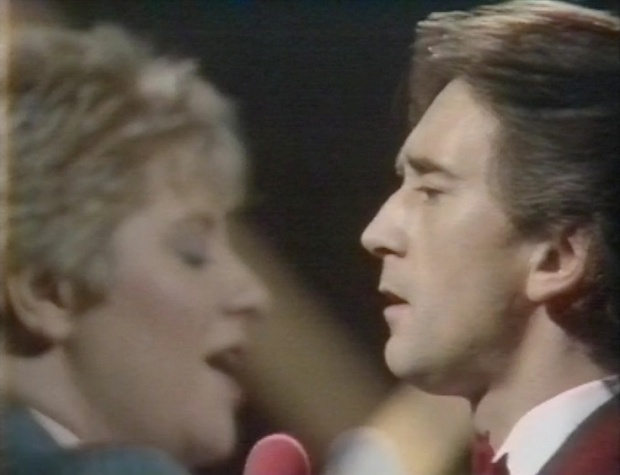 Denis Lawson and Victoria Wood
