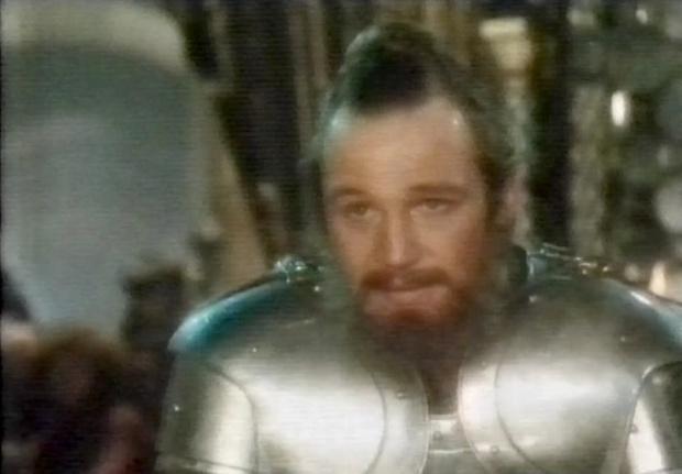 Liam Neeson in Excalibur