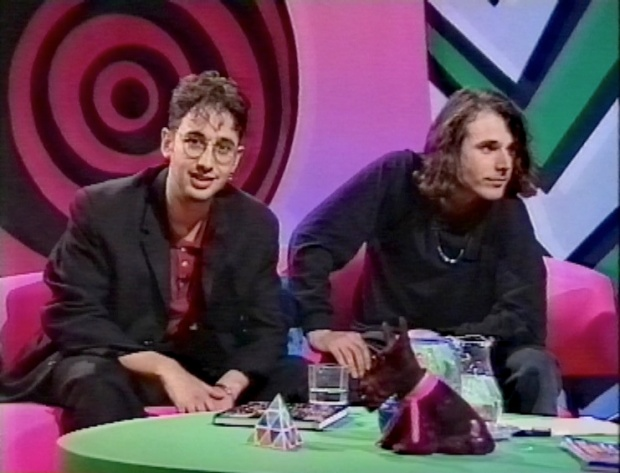 Newman and Baddiel on The Word