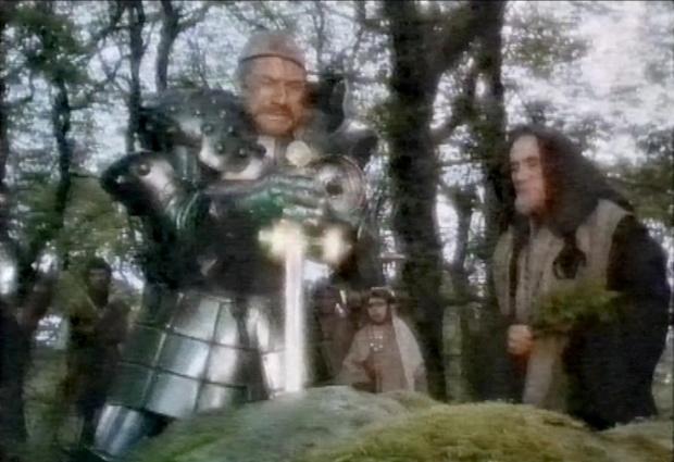 Patrick Stewart in Excalibur