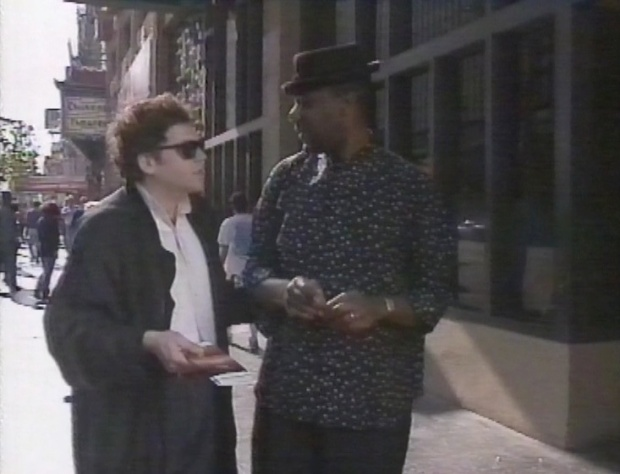 Charles Fleischer and Lenny Henry