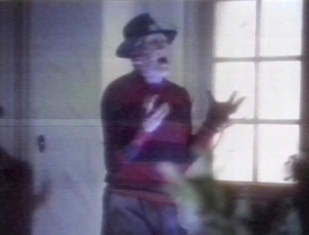 Freddie Krueger in Roseanne Barr