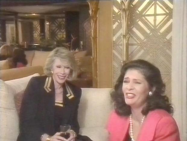 Taffy Turner interviews Joan Rivers
