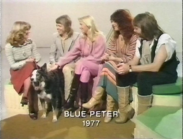 ABBA on Blue Peter