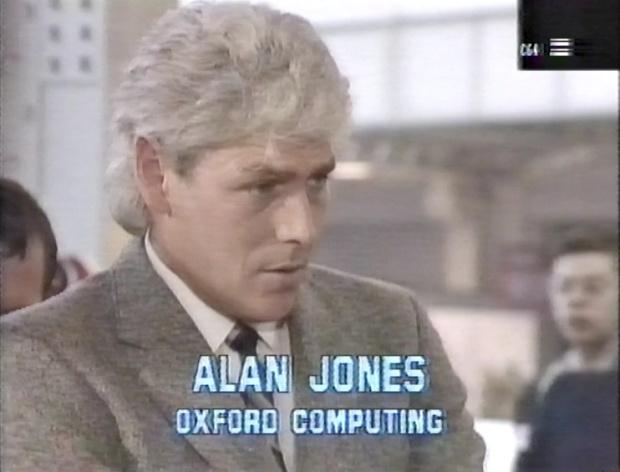 Alan Jones of Oxford Computing