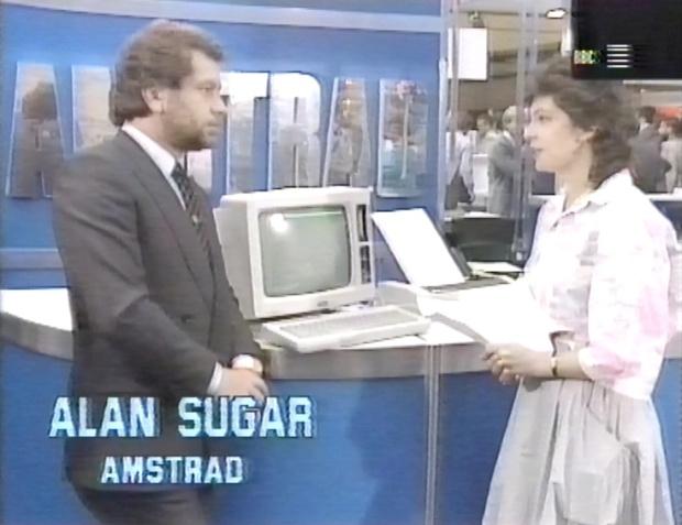 Alan Sugar talks to Jane Ashton