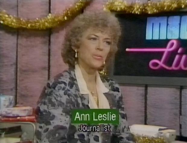 Ann Leslie