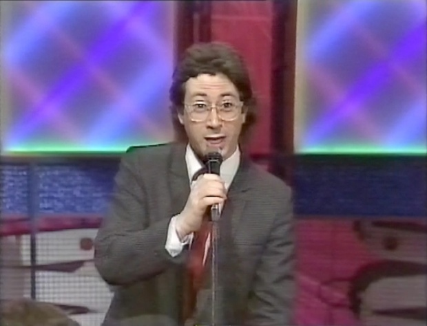 Ben Elton, before his spangly suit