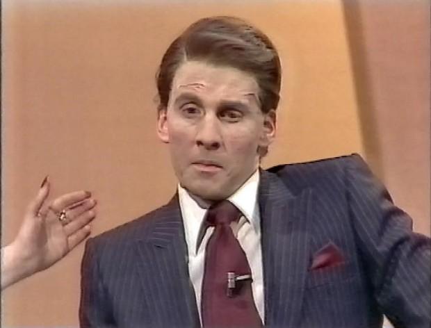 Chris Barrie as Ronald Reagan