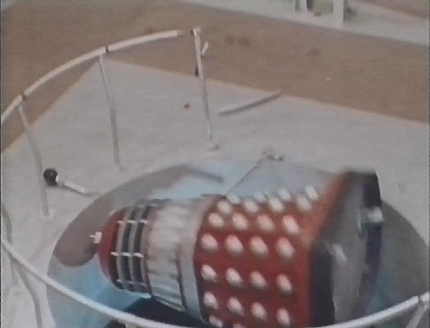 Falling Dalek