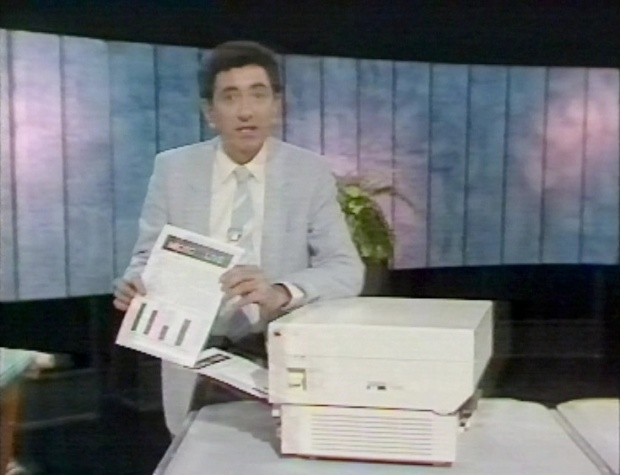 Fred and a Laserwriter