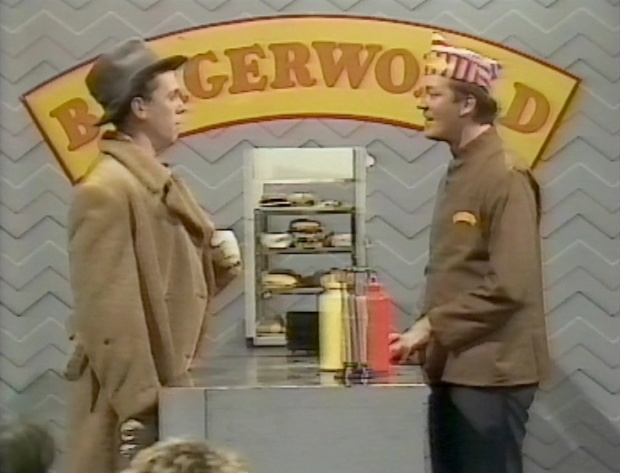 Fry and Laurie - fast food