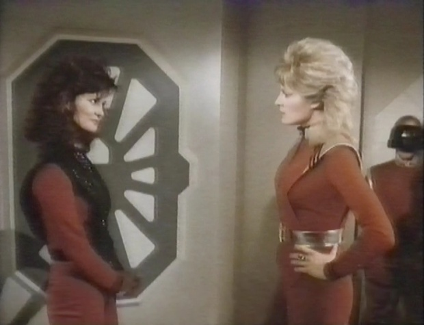 Jane Badler and June Chadwick
