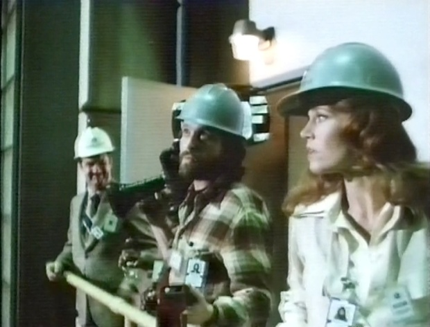 Jane Fonda and Michael Douglas