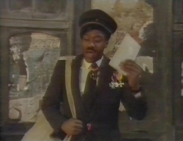 Lenny Henry as the Postman