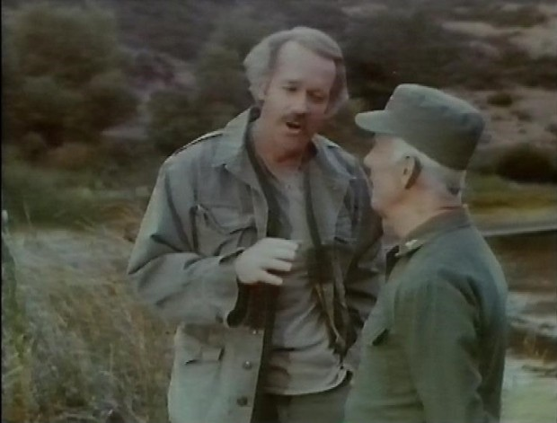 Mike Farrell and Harry Morgan