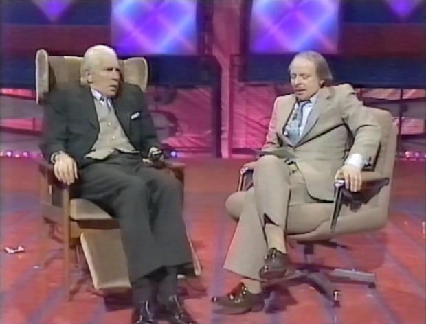 Peter Cook and John Bird