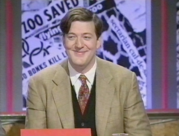 Stephen Fry on HIGNFY