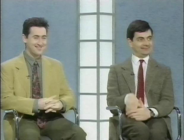 Alan Cumming and Mr Bean