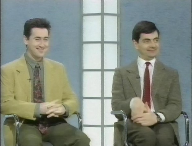 Alan Cumming and Mr Bean
