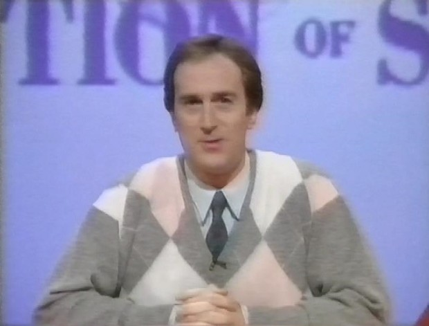 Angus Deayton in a jumper