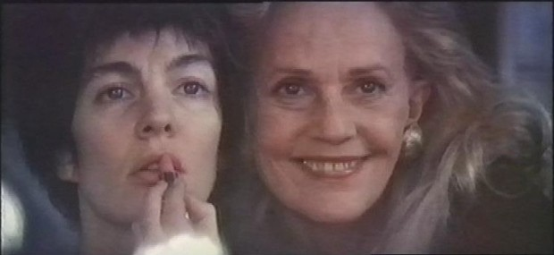 Anne Parillaud and Jeanne Moreau
