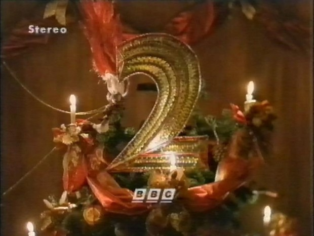 Christmas BBC2 logo