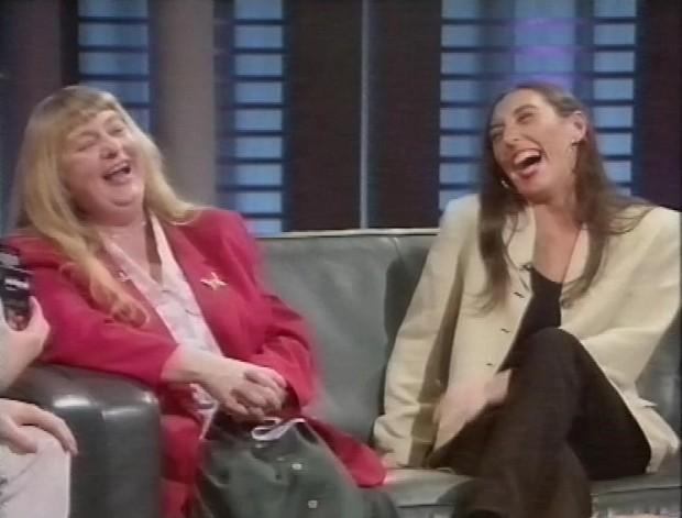 Deborah Russell and Maureen Sutton