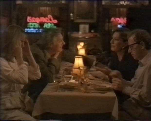 Diane KEaton, Alan Alda, Anjelica Huston, Woody Allen