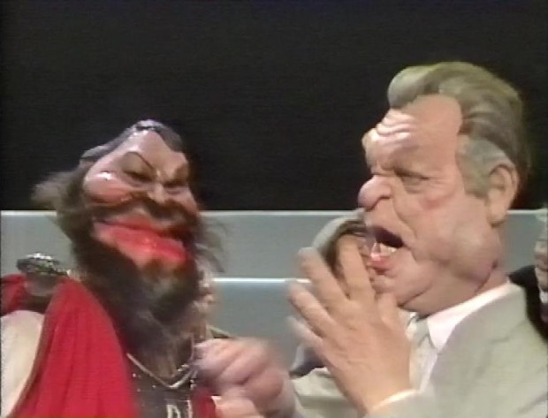 Donald Sinden Brian Blessed Spitting Image