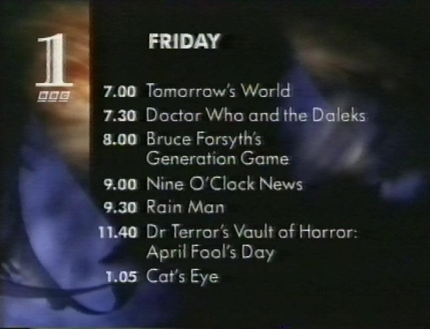 Friday 19th November 1993 on BBC1