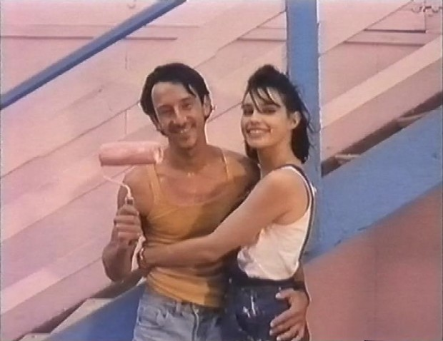 Jean Hugues Anglade and Beatrice Dalle