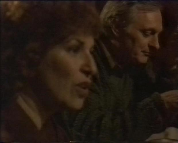 Joy Behar and Alan Alda