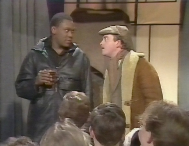 Lenny Henry and Harry Enfield