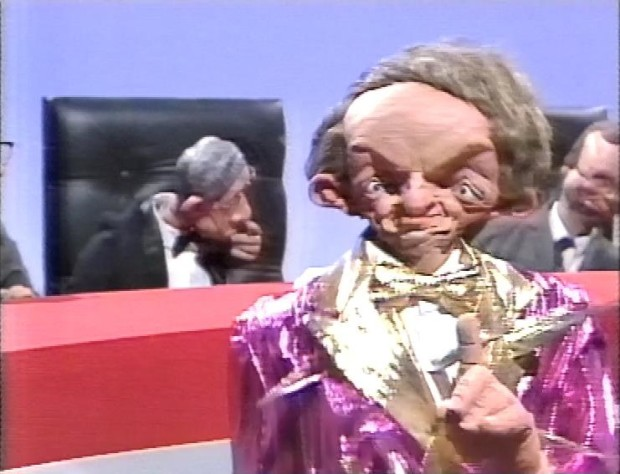 Paul Daniels on Spitting Image
