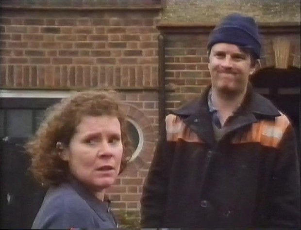 Paul Merton and Imedla Staunton