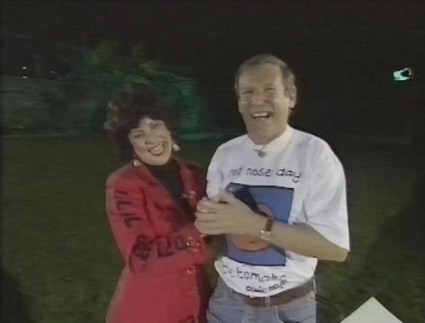 Ruby Wax and Geoff Hamilton